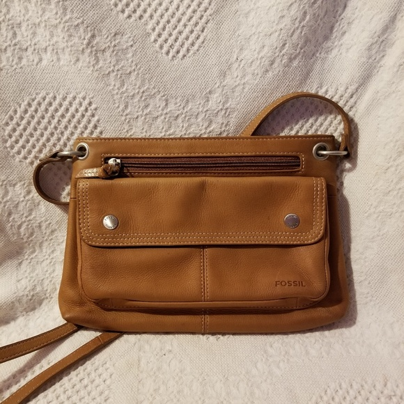 2546f4bc3c722 Fossil Bags | Crossbody Organizer Bag Built In Wallet Vtg | Poshmark